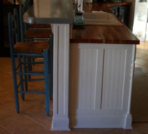 kitchen island molding butcher block kitchen island breakfast bar woodworking projects plans