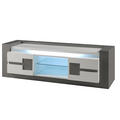 light grey tv stand grey tv stand with led lights furniture in fashion
