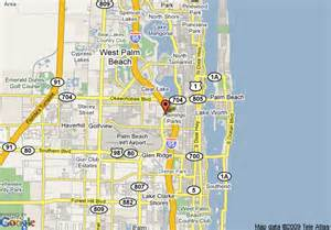west palm map florida map of doubletree hotel west palm airport west palm