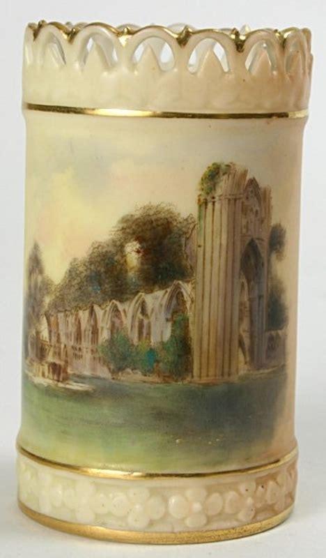 royal worcester scenic vase york st s for