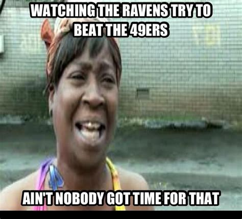 49ers Memes - funny 49ers pictures the ravens try to beat the 49ers