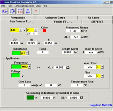 coil inductance calculator software image gallery iron inductor calculator