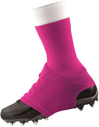 football shoe covers tck razur cleat covers neon pink small apparel