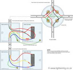 light circuit 2 way switch 3 wire system cable colours light wiring