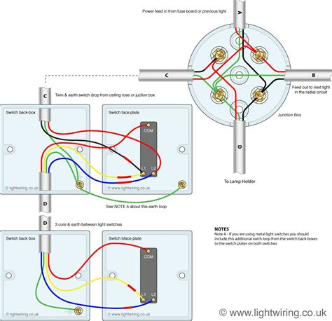 3 way switching from junction box for two lighting circuit