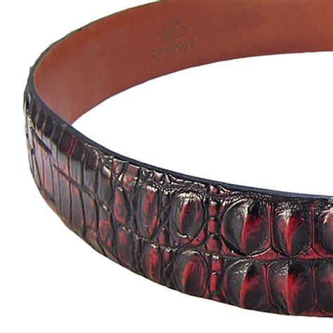 Hell Boot Coboy Black hell razor hornback nile crocodile belt caboots custom