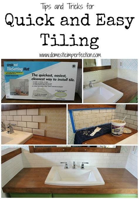 easy diy kitchen backsplash 25 best ideas about easy tile on pinterest bathroom