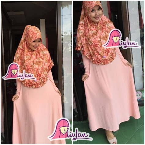 Gamis Syari Shiela Choco Cantik syari set dress shafa miulan boutique