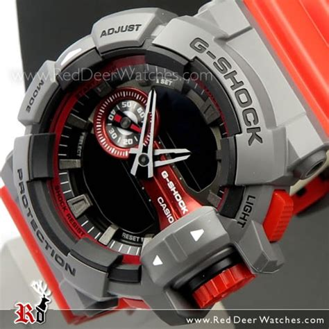 Casio Gshock Ga400 Redgrey buy casio g shock 200m analog digital sport ga 400 4b ga400 buy watches casio