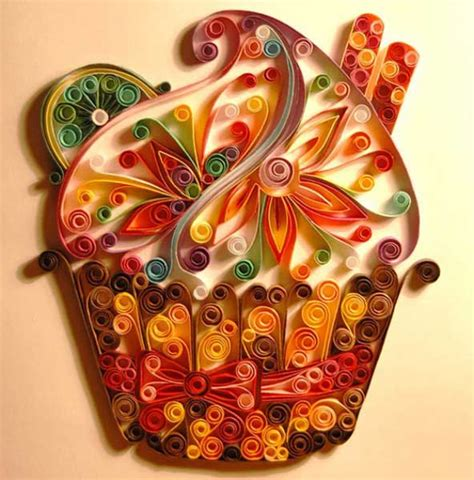 Quilling Paper Craft - unique paper craft ideas and quilling designs from