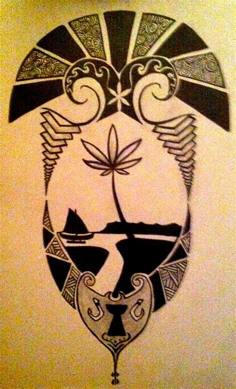 guam tribal tattoo designs tribal guam seal by gypsyrose86 on deviantart