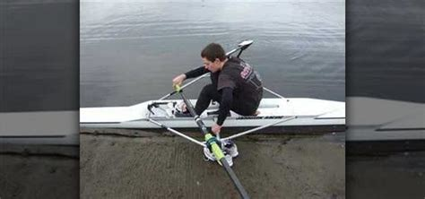 sculling boat balance how to get into a single scull rowing craft unassisted