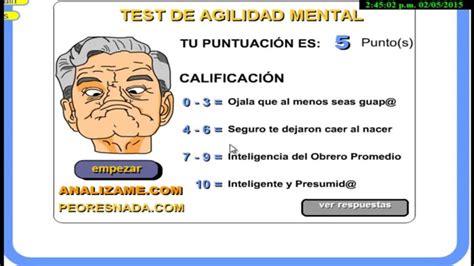 test mentale alex vs inteligencia mental test de agilidad