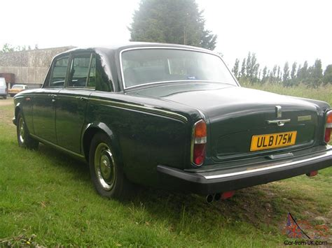 roll royce green 1981 rolls royce green silver shadow 2