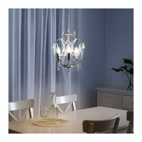 ikea chandelier kristaller chandelier 3 armed silver colour glass ikea