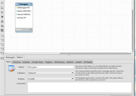 cara membuat erd dengan workbench langkah langkah membuat databse di workbench membuat