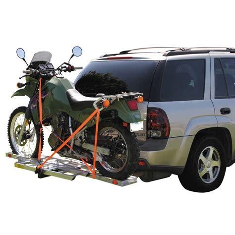 motocross bike trailer 400 lb receiver mount motorcycle carrier moto bike