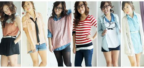 Wardrobe For College by Back To School Everyday Ideas