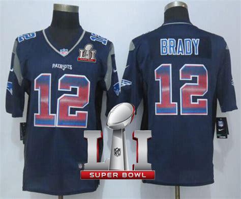 nike new patriots 12 tom brady navy blue team