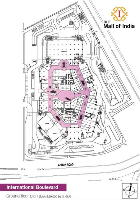 mall of the emirates floor plan dlf mall of india noida