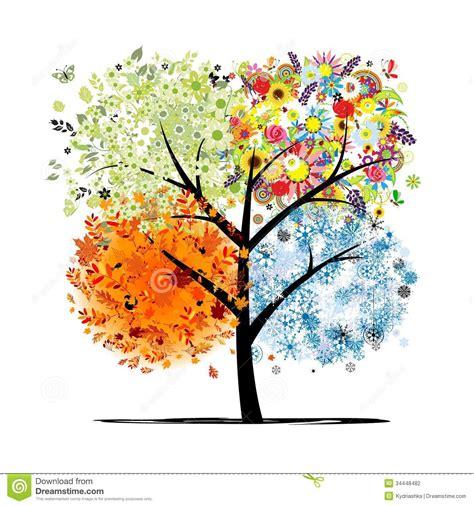 imagenes de invierno verano otoño y primavera cuatro estaciones primavera verano oto 241 o invierno
