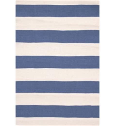 teppich blau weiß gestreift outdoor teppiche im greenbop shop kaufen