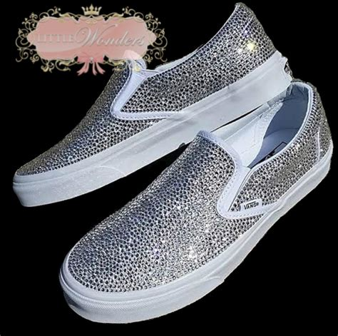 vans wedding sneakers swarovski bling vans bridal shoes