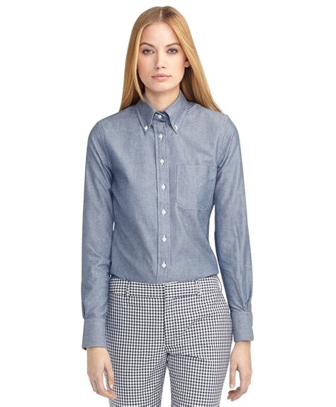 Button Collar Shirt womens button collar shirts artee shirt