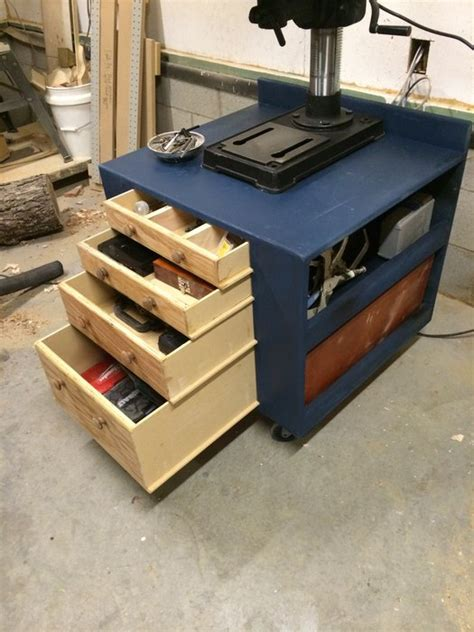 drill press stand and cabinet by buck cpa lumberjocks