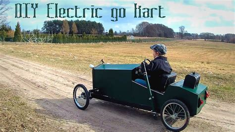 Cheap Home Plans To Build by Homemade Electric Go Kart For Kids In Vintage Style Diy