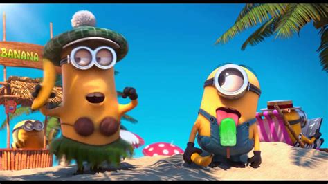 in the summer in the summer time minions