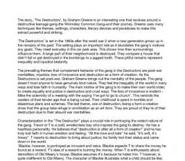 The Destructors Essay by Literary Essay Destructors Presentationbackgrounds Web Fc2