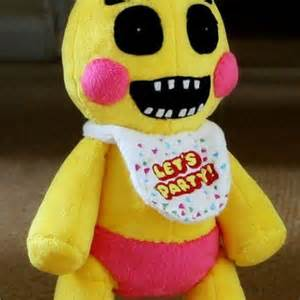 Five nights at freddy s toy chica from roobbo on etsy