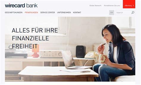 wirecard bank aschheim wirecard erfahrungen girokonto und kreditkarte ohne