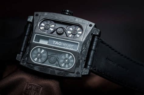 Tagheuer Monaco V4 Black on the tag heuer monaco v4 phantom