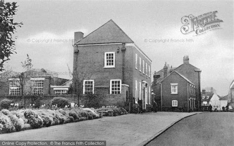 Gardens Post Office by Wymondham Priory Gardens And Post Office C 1960 Francis