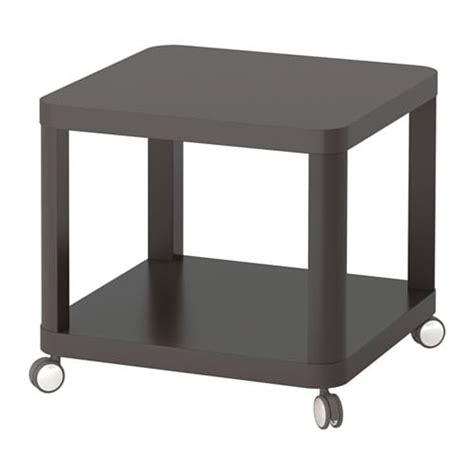Ikea Tingby Side Table On Castors tingby side table on castors grey 50x50 cm ikea