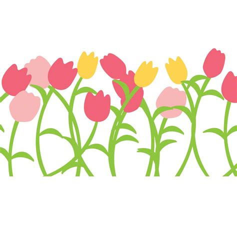 tulip wall stickers tulip wall decals