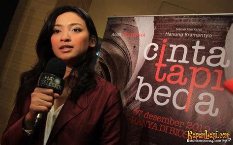 ini dia film layar lebar indonesia yang diangkat dari artis artis di premiere film cinta tapi beda kapanlagi com