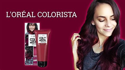 L Oreal Colorista dyeing my hair l oreal colorista review