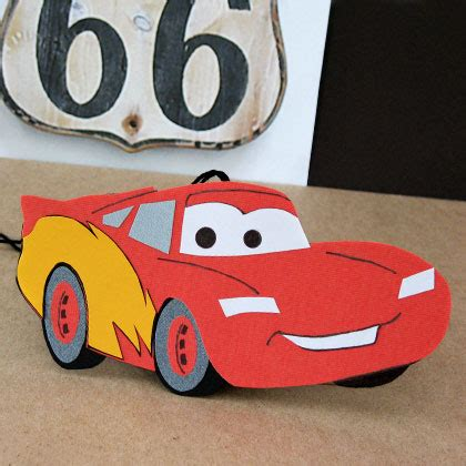Lightning Mcqueen Car Air Freshener Disney Family