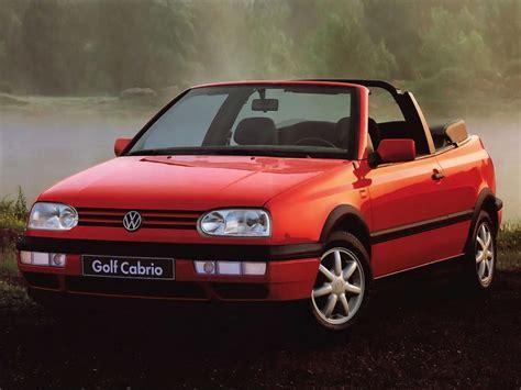 volkswagen cabrio volkswagen golf iii cabrio 1e 2 0i 115 hp