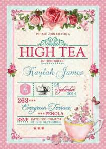 best 25 high tea invitations ideas on