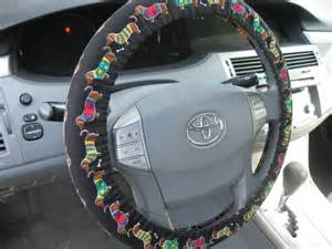 Steering Wheel Covers Dogs Last One Fabric Out Of Print Not Available Dachshund
