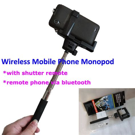 Tongsis Mobil tongsis wireless mobile phone monopod for android z07 5 black jakartanotebook