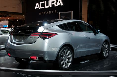 how things work cars 2011 acura zdx regenerative braking zdx concept style led tail lights project preview acurazine acura enthusiast community
