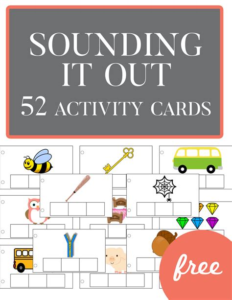 4 Letter Words Out Of Guilty it out 52 free activity cards teaching