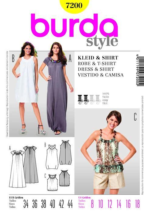 pattern review burda 7700 burda 7200 dress and shirt