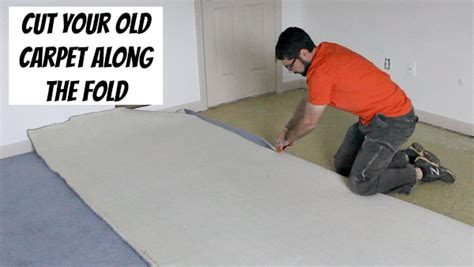 how to shorten a rug how to remove carpet without breaking your back