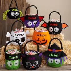 Halloween Treat Bags Personalized Halloween Treat Bags Totes Amp Pails At Personal Creations